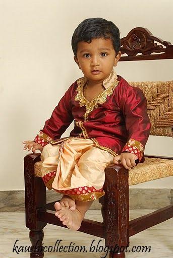 Sparkling Fashion: Dhoti kurta for boys