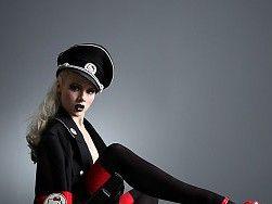Blondes women nazi hello kitty high heels tights miss mosh 1069x1200 wallpaper