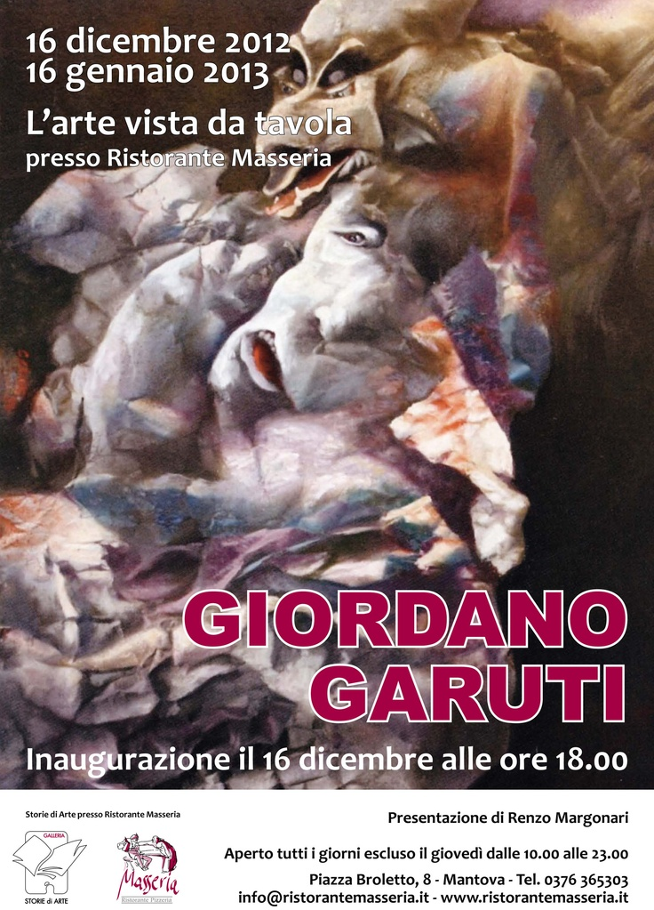 Giordano Garuti Masseria Mantova Ristorante Masseria Piazza Broletto 8 #mantova #restaurant #music #place #art #history #food #wine #jazz #pisanello #map #city