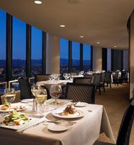 Great food and view..