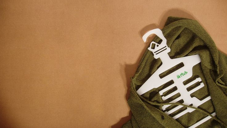 A humorous hanger like skitch can help you unearth your forgotten gear from the bottom of your untidy closet!