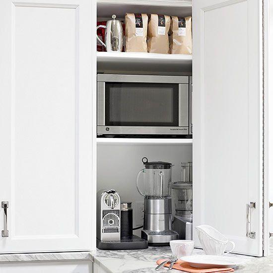 Kitchen Appliance Cabinet: 14 Best Images About Kitchens / Storage On Pinterest
