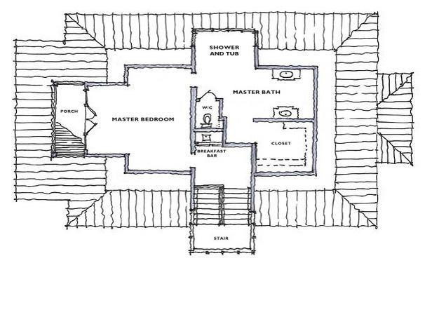 Floor Plan For HGTV Dream Home 2008