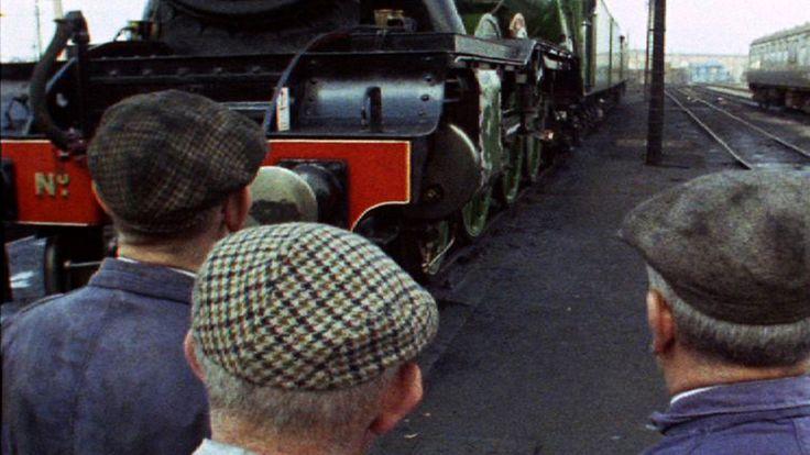 Travel from London's King's Cross to Edinburgh on the 'Flying Scotsman'. (1968)