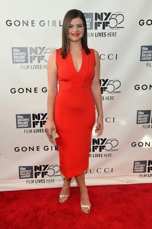 "Casey Wilson At The Opening Night Gala Presentation And World Premiere Of ""Gone Girl"""