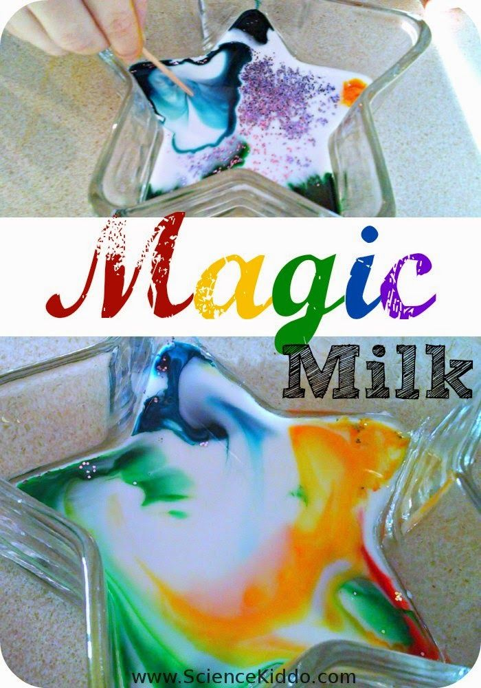 Call it magic milk, milk fireworks, color changing milke, or tie-dye milk. Whatever you name it, give this super easy process science/art activity a try!