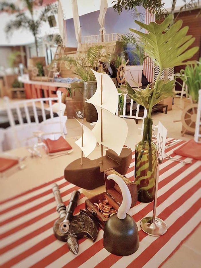 Best 25 Pirate Centerpiece Ideas On Pinterest Pirate