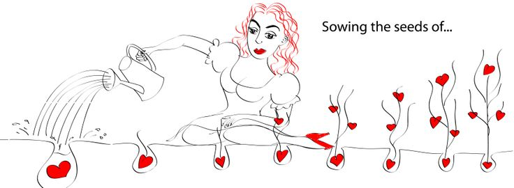 Titel: Sowing the seeds of love...""