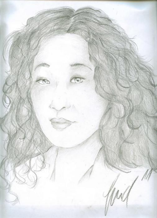 Sandra Oh by SweetSophie