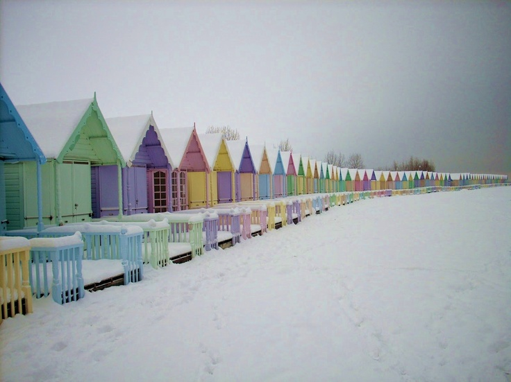 beach cottages in winter...Photographers, Beach Cottages, Winter White, Things Beachy, Winter Cottages