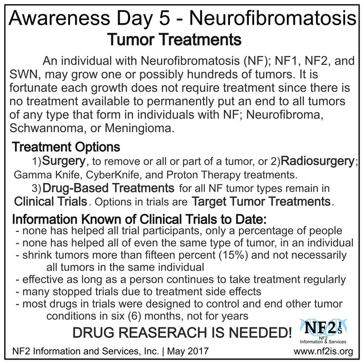 Neurofibromatosis DRUG REASERACH IS NEEDED! https://clinicaltrials.gov/ https://www.nf2is.org/clinical_trials.php