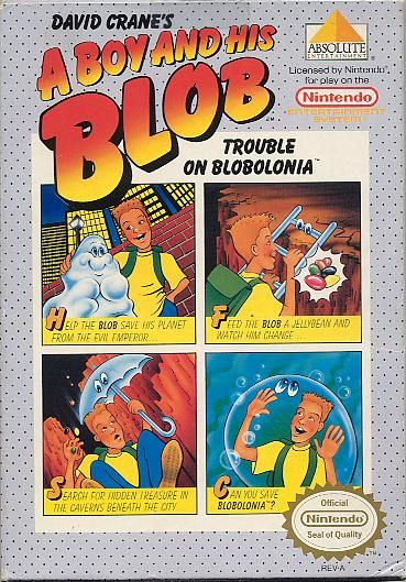 A Boy and His Blob: Trouble on Blobolonia >>> Wii (Nintendo Entertainment System Virtual Console)