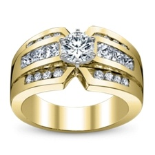Yellow Gold Engagement Rings   Robbins Brothers: Engagement Ring