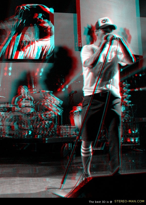 Anthony Kiedis Red Hot Chili Peppers in 3D anaglyph Photography by Coldie @RHCPAKiedis