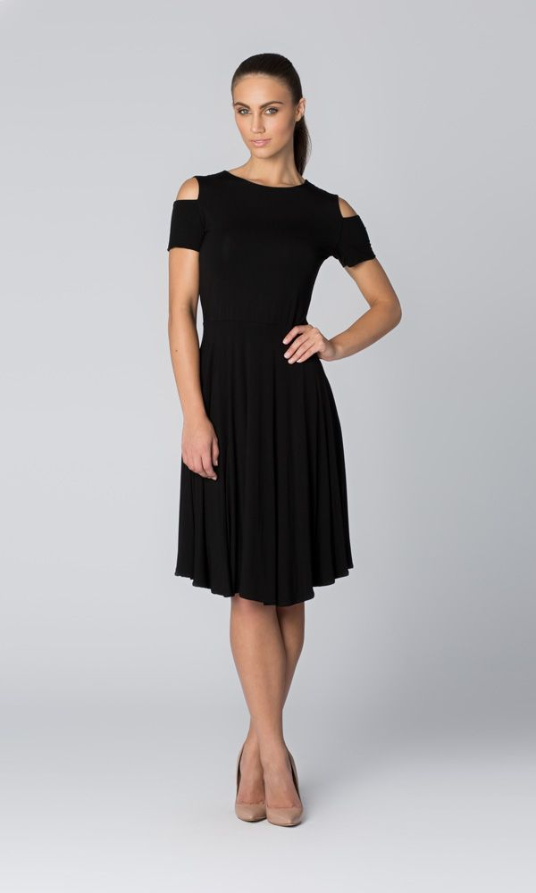 Cut-Out Shoulder Dress from Leina Broughton