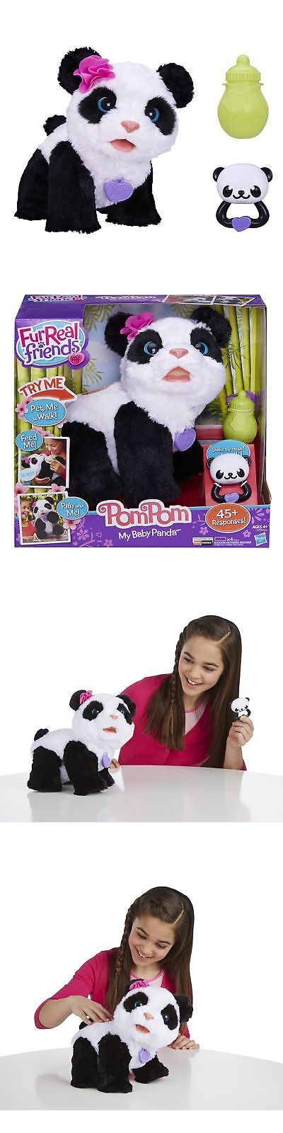 FurReal Friends 38288: Furreal Friends Pom Pom My Baby Panda Pet Standard Packaging -> BUY IT NOW ONLY: $71.02 on eBay!