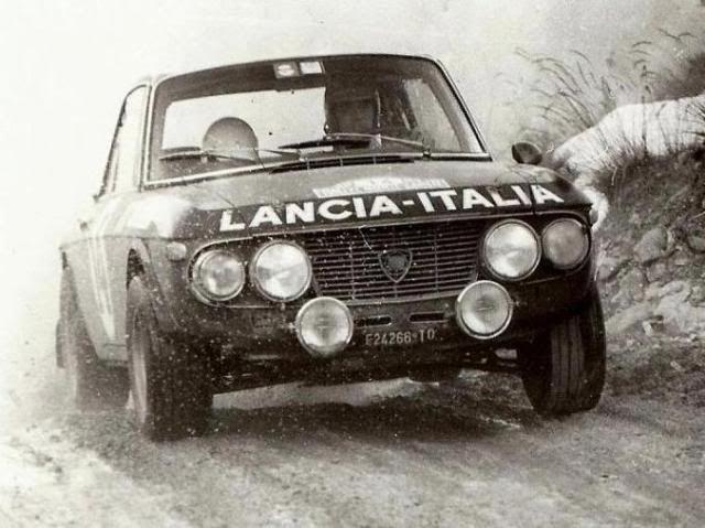 Lancia Fulvia HF / Rally Montecarlo 1972