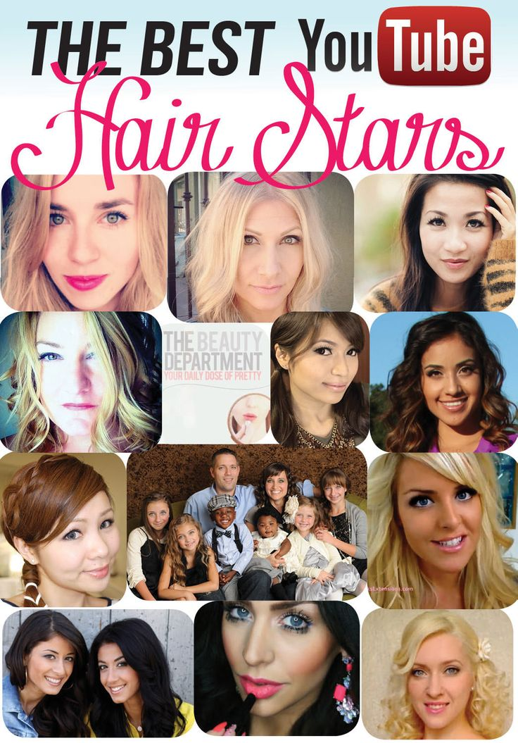 Overwhelmed by all the hair channels on YouTube? Look no further fellow hair lovers...this lists the best of the best!