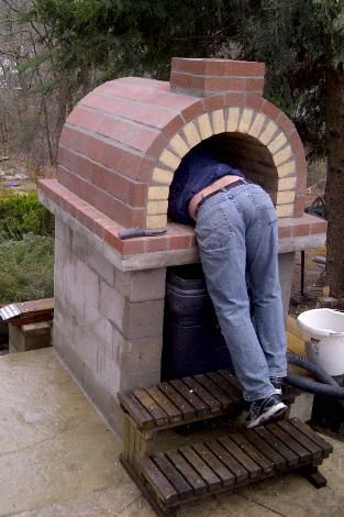 How to cook your friends! Just kidding! It's How to Build a Pizza Oven - Pictures by BrickWoodOvens.com