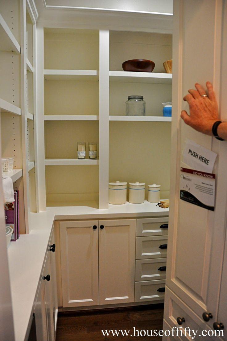 Hidden pantry door home ideas pinterest for Hidden pantry