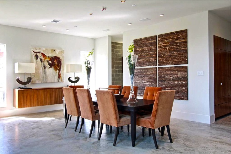 Contemporary Dining Room; Taylor & Taylor Designs Home