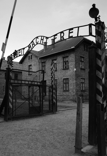 Auschwitz - Poland. A historic place to pay respects to everyone who suffered.... Places that reminds you how mad the human being can be..