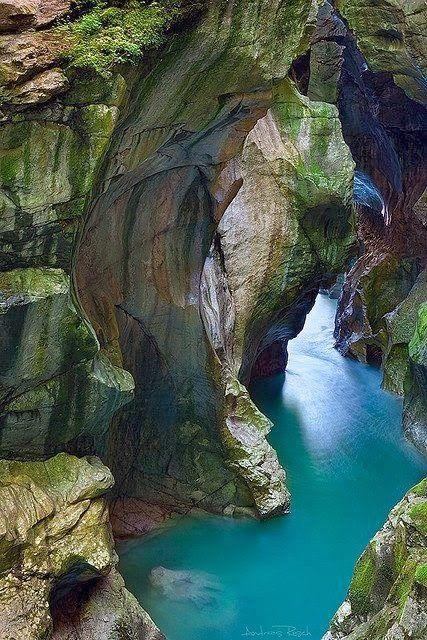 The Dark Gorge Lammerofen,near Salzburg Austria