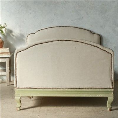 Eloquence one of a kind vintage twin bed sage green for One of a kind beds