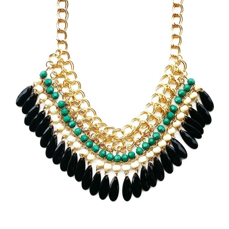The Ivy Necklace via daisyline. Click on the image to see more!