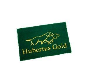Hubertus Gold hondendeken - Groen  De Hubertus Gold hondendeken is zo geconstrueerd dat het de vochtigheid absorbeert. Uw hond blijft dus steeds warm en droog. Anti-reuma, anti-allergieën, haast onverwoestbaar en beschermt ideaal tegen de kou.
