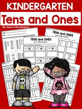 This product contains 10 worksheets with tens and ones blocks for numbers 11-19. The worksheets are designed to be used with kindergarten students, but you can also use them with your low 1st graders. Happy teaching! Dana's Wonderland