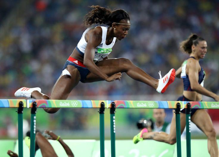 Cindy Ofili Rio 2016 final