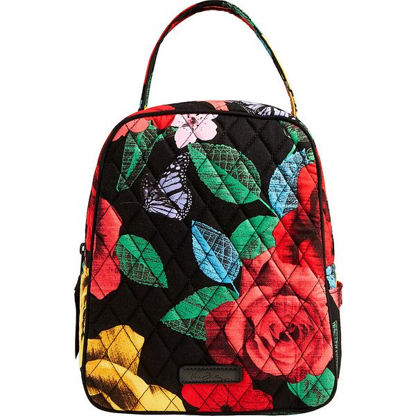 Vera Bradley Lunch Bunch - Havana Rose - Lunch Bags ($34) ❤ liked on Polyvore featuring home, kitchen & dining, food storage containers, print, lunch sack, vera bradley lunch sack, vera bradley, lunch thermos and lunch bags