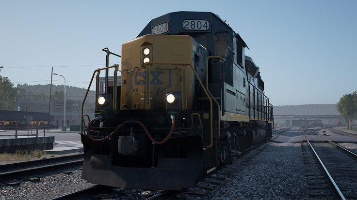 Get Ready for Train Sim World: CSX Heavy Haul