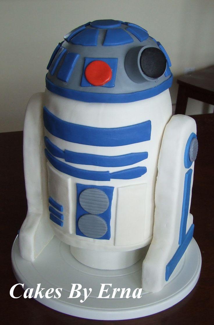 R2-D2 Birthday Cake: R2 D2 Birthday, Cakes Ideas, Birthday Parties, R2D2 Cakes, 1St Birthday, Cakes Decor, Creative Cakes, Birthday Ideas, Birthday Cakes