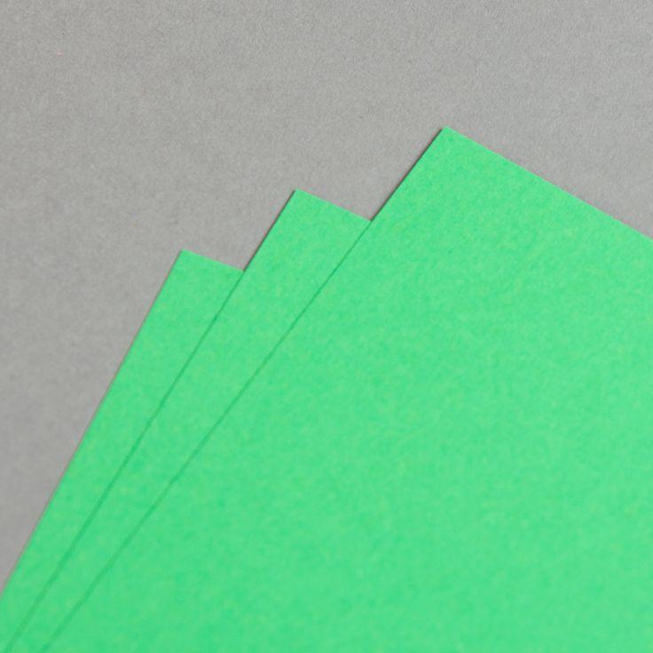 Karten Farbig A6 hochdoppelt Billardgrün | 25 Stück
