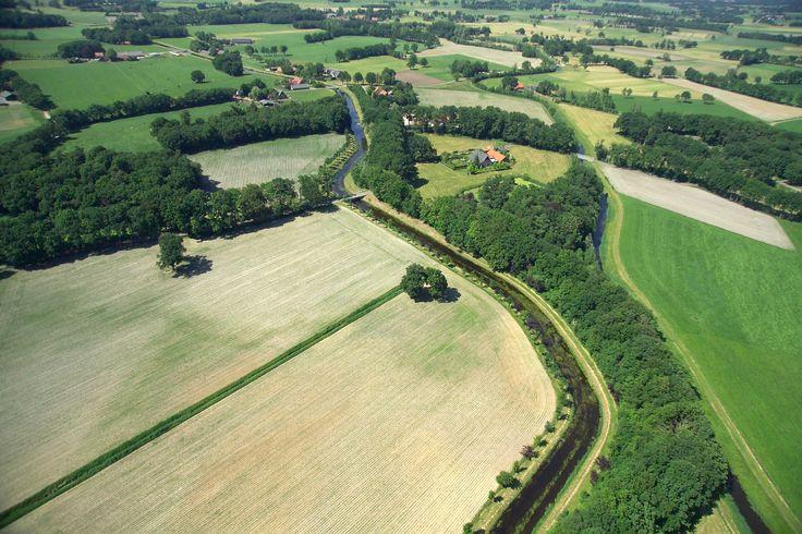 Aerial Landschap Twente
