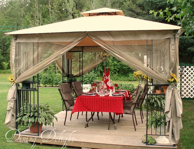 19 best ideas about july 1st canada day decorating on for Outdoor party tent decorating ideas
