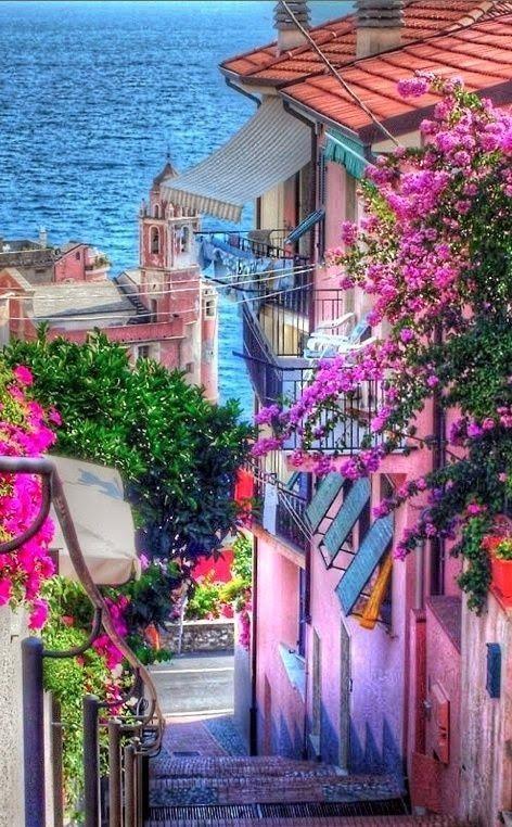 Tellaro, Italy photography colorful cities beautiful amazing italy travel…
