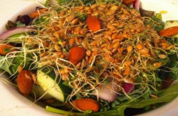 A few years ago, a young man was diagnosed with stage 3 cancer. He opted out of taking the most common treatment... chemotherapy. Instead, he decided to focus on healing himself through his diet. This is his anti-cancer salad recipe.