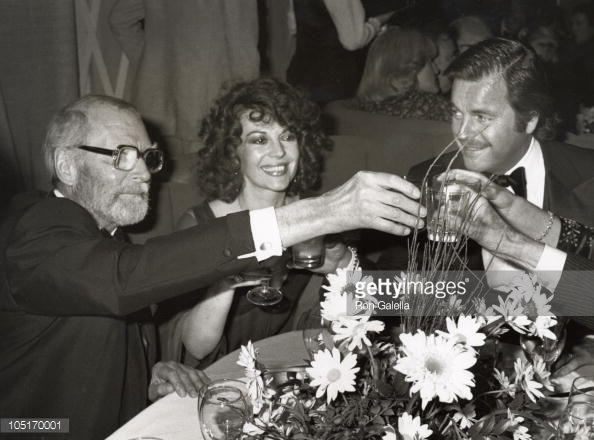 Sir Laurence Olivier, Natalie Wood and Robert Wagner