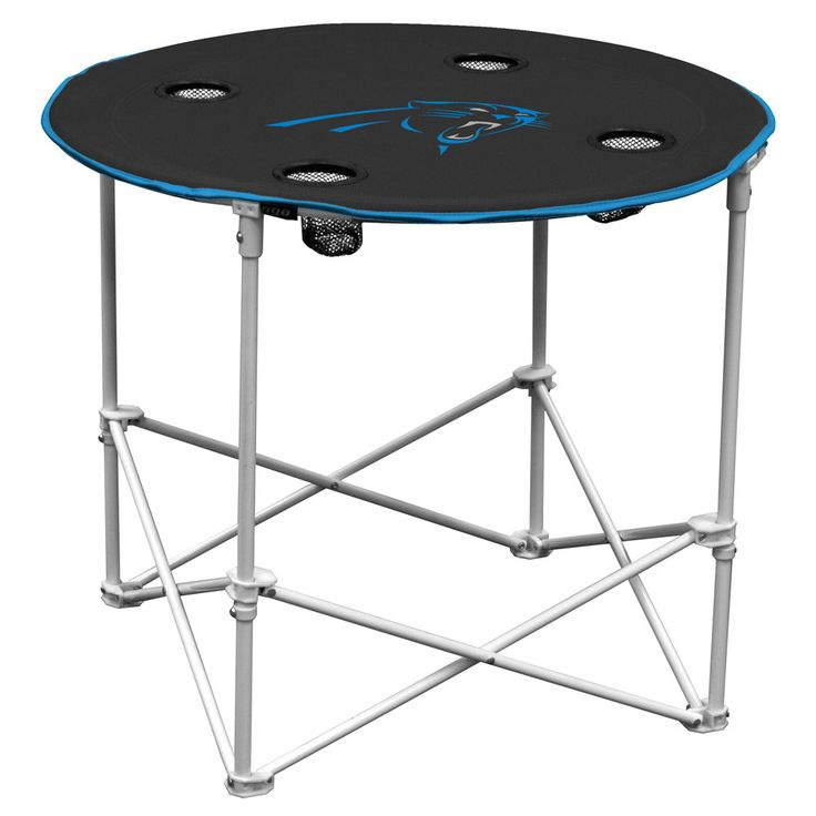 Carolina Panters NFL Portable Round Table