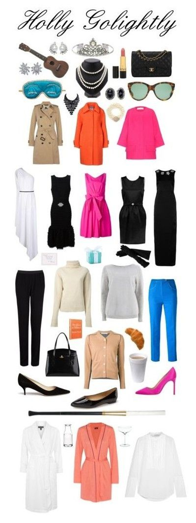 Holly Golightly's Wardrobe!                                                                                                                                                                                 More
