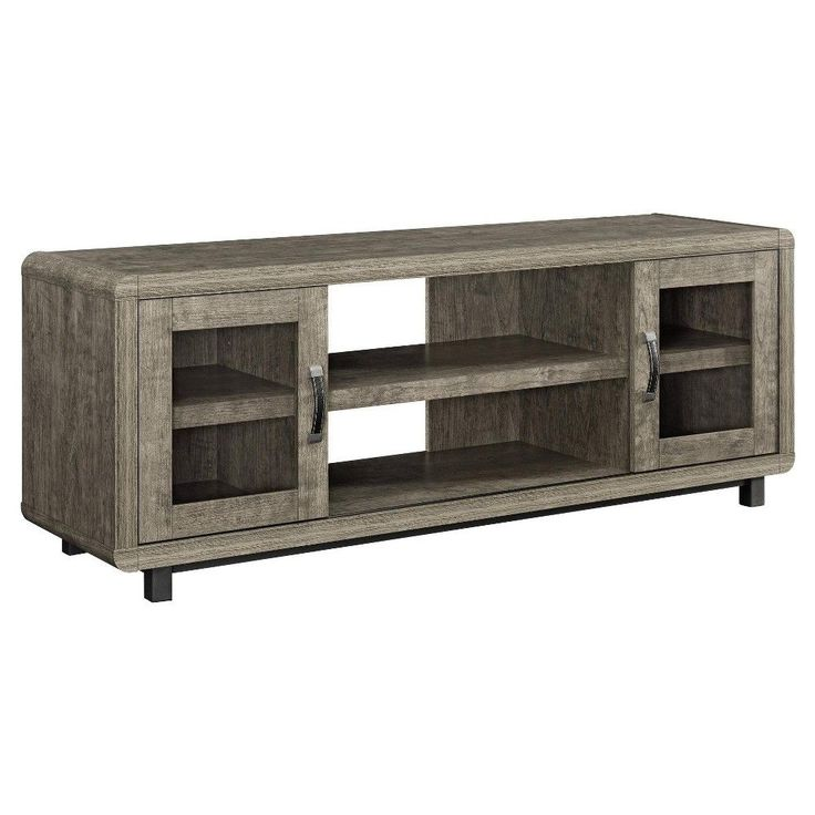 Eastlin TV Console For TVs Up To 55   Rustic Grey   Ameriwood Home, Gray