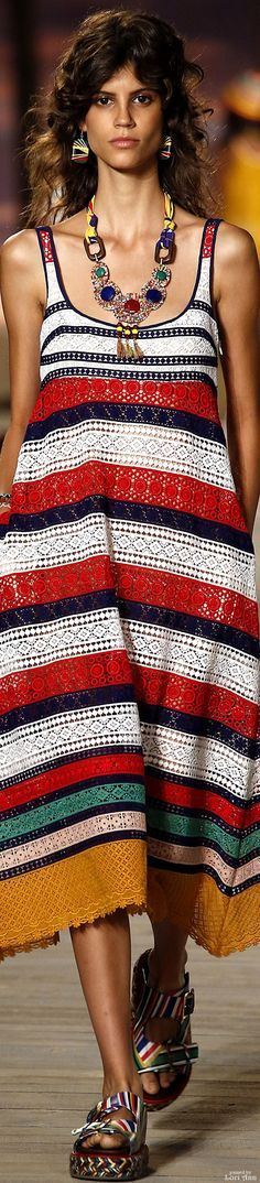 striped knit dress @roressclothes closet ideas women fashion outfit clothing style