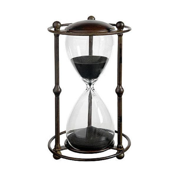 Sand Timer ❤ liked on Polyvore featuring home, kitchen & dining, kitchen gadgets & tools, sand hourglass, hour glass sand timer and hourglass sand timer