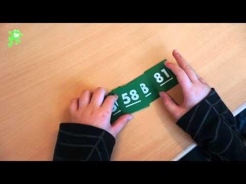 Uitleg van het spel 'Straatje maken'. Doel: ordenen van willekeurige getallen.