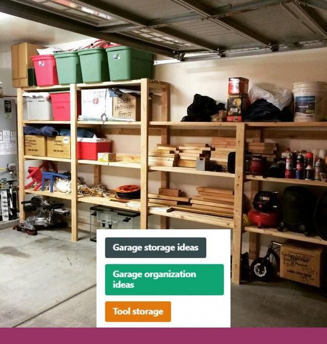 Garage Storage Solutions Diy Projects And Garage Shelving Menards Garage Storage Solutions In 2019 Garage Storage Garage Storage Systems Garage Shelving