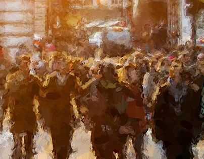 """Check out new work on my @Behance portfolio: """"Sunny ordinary people"""" http://be.net/gallery/36076835/Sunny-ordinary-people"""