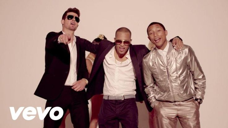 Robin Thicke - Blurred Lines ft. T.I., Pharrell https://www.youtube.com/watch?v=yyDUC1LUXSU&list=PL5LSRDWWZWY_ceWJoMJ0Ovq_edtkr7rlL&index=30